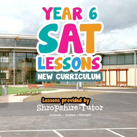 Year 6 SATs Preparation 2019 – Telford